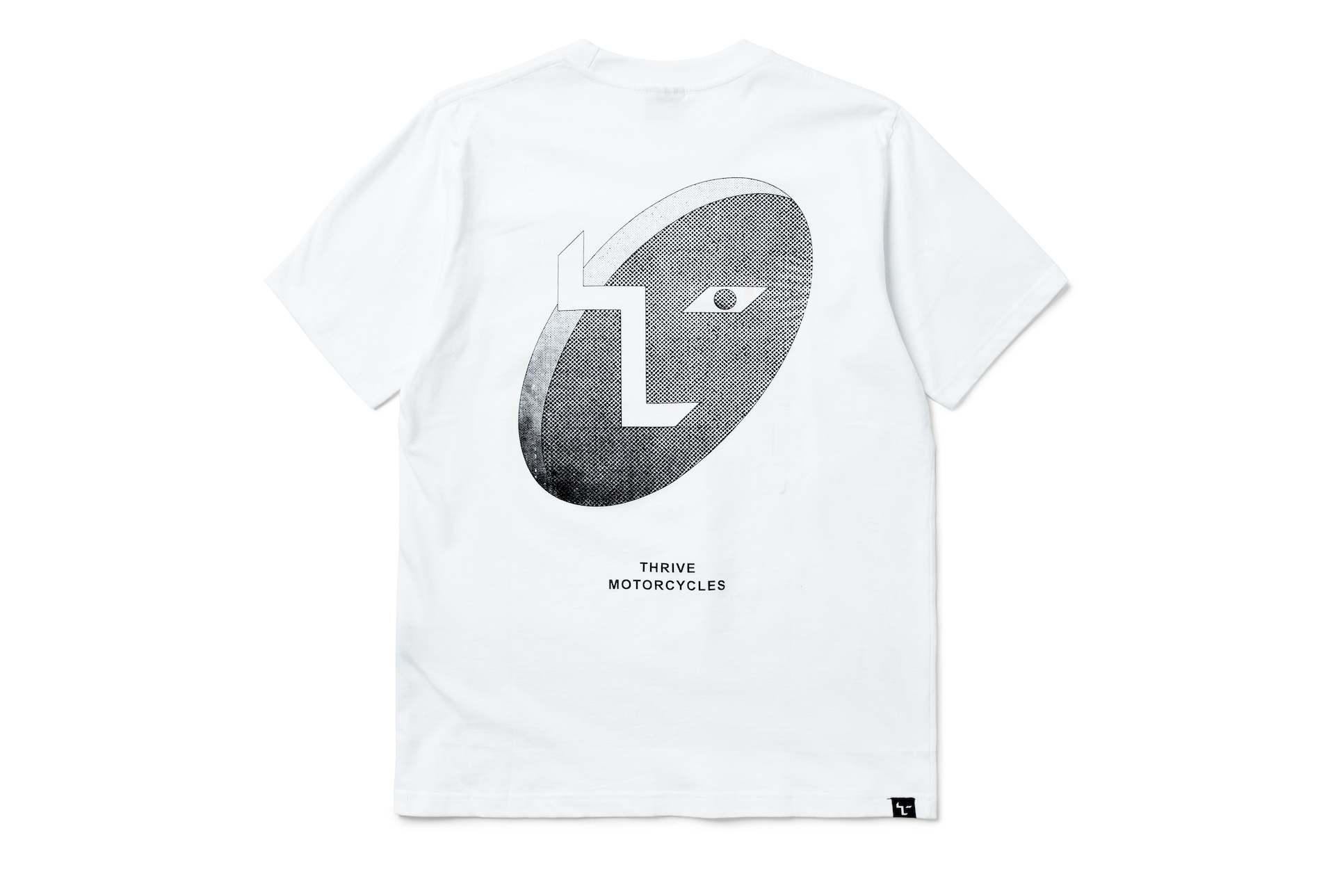 T Logo Neue White