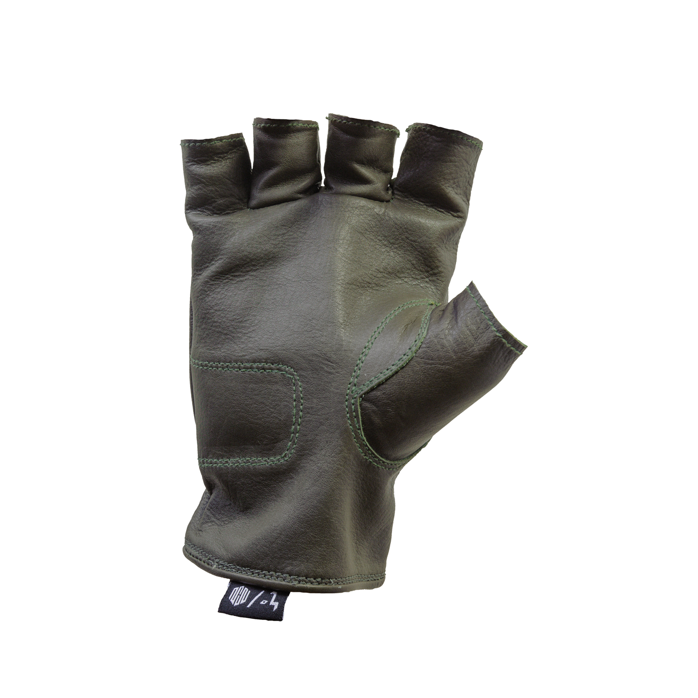 Del Mar Gloves Olive Half