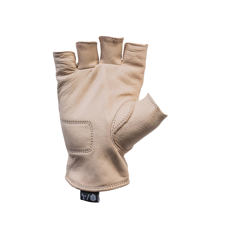 Del Mar Gloves Tan Half