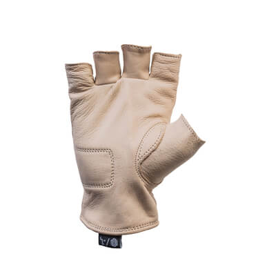Del Mar Gloves Tan Half