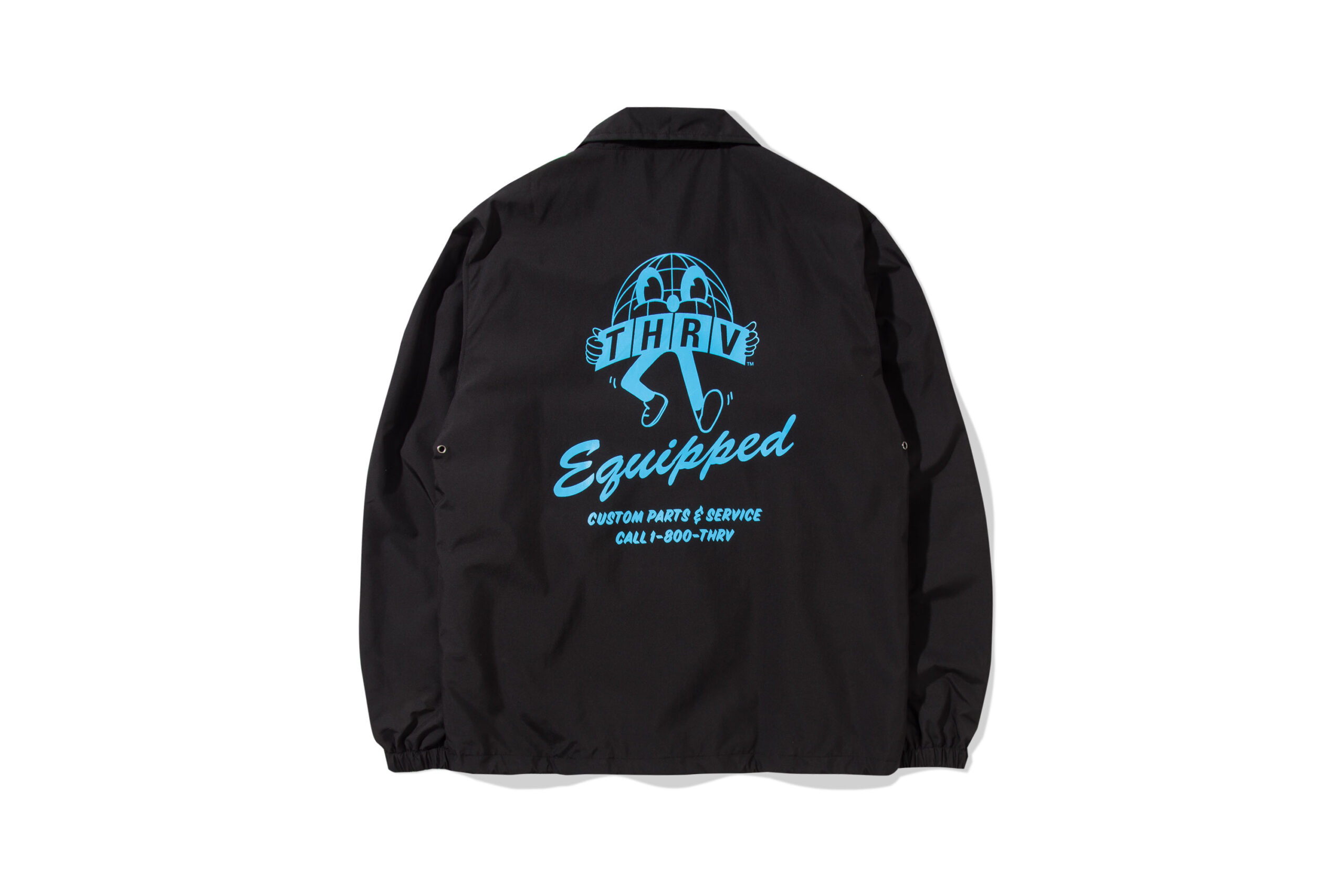 Globetrotter Black Coach Jacket