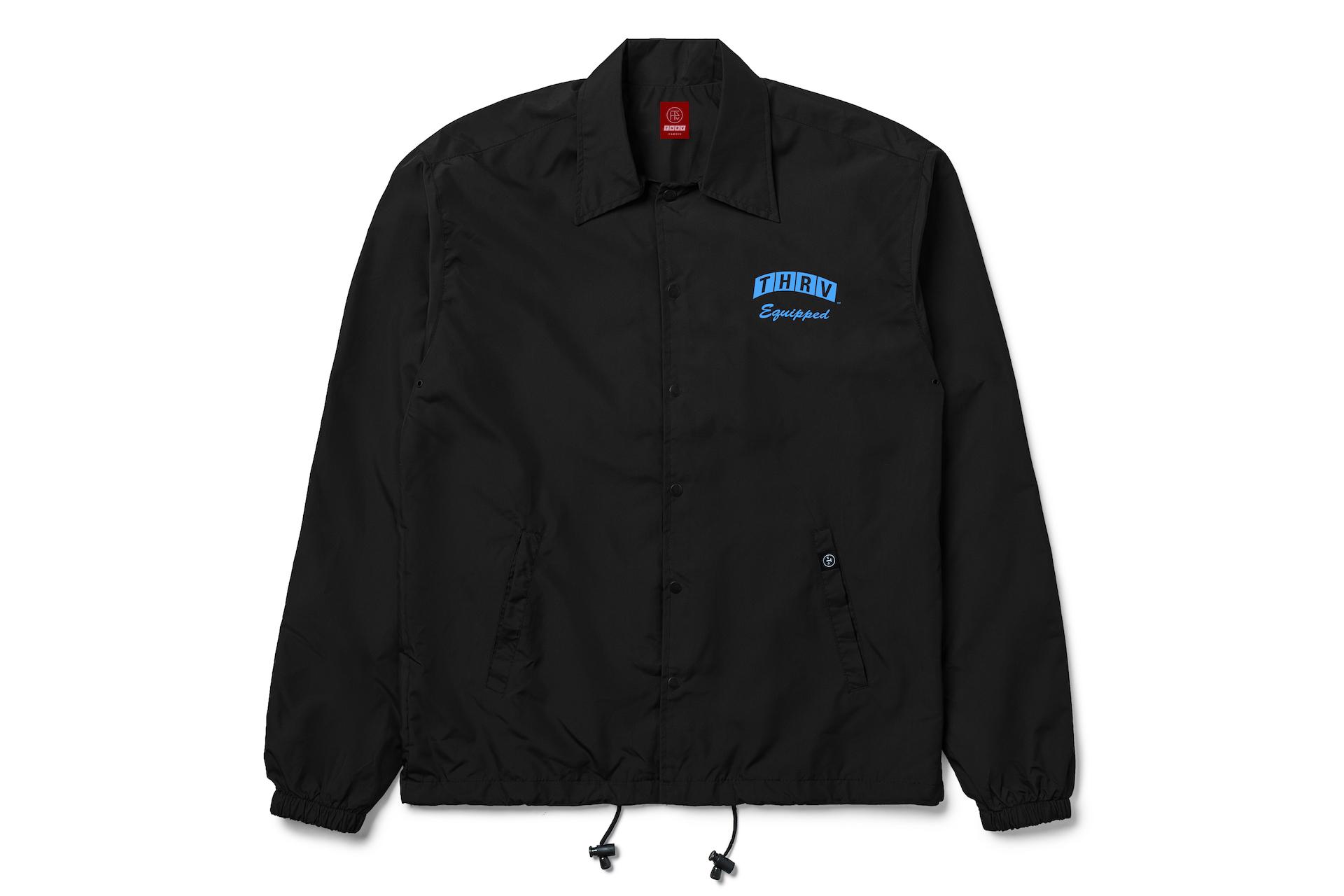 Globetrotter Black Coach Jacket