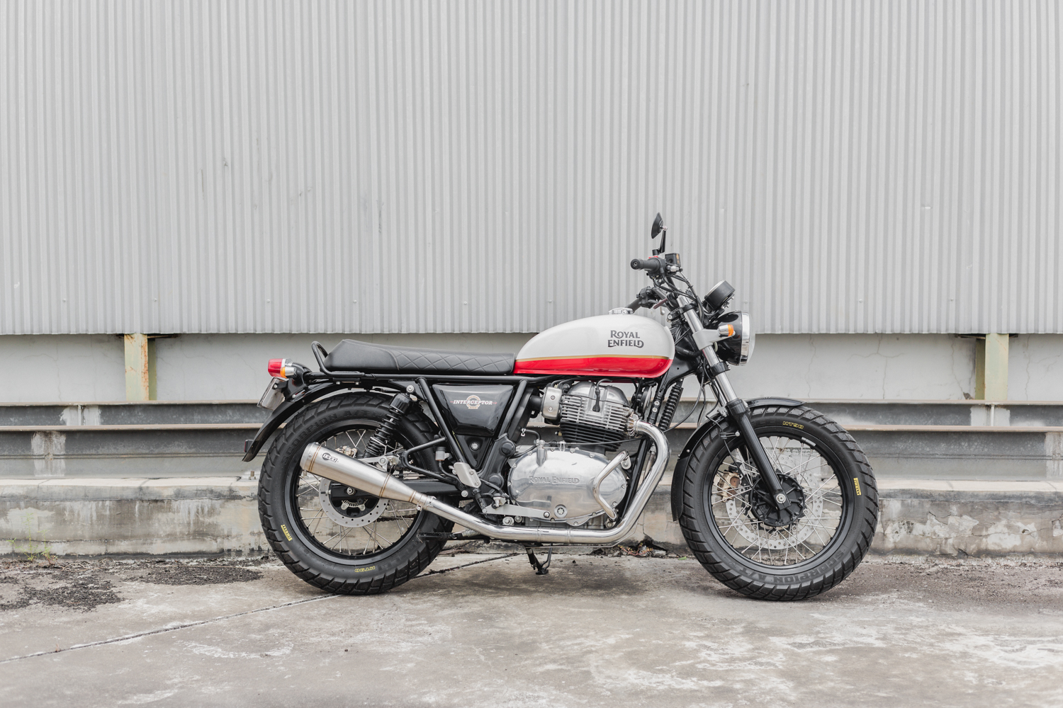 Peony Royal Enfield Perfomance Mufflers Stainless